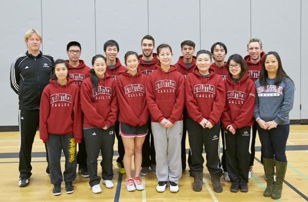 2012-2013 KPU Badminton Team