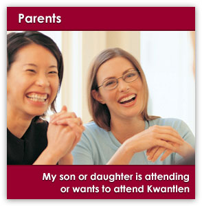 My son or daughter is attending or wants to attend Kwantlen