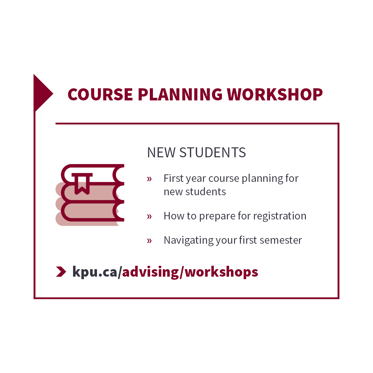 Course Planning - New Students