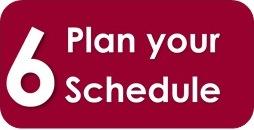 step 6-plan schedule