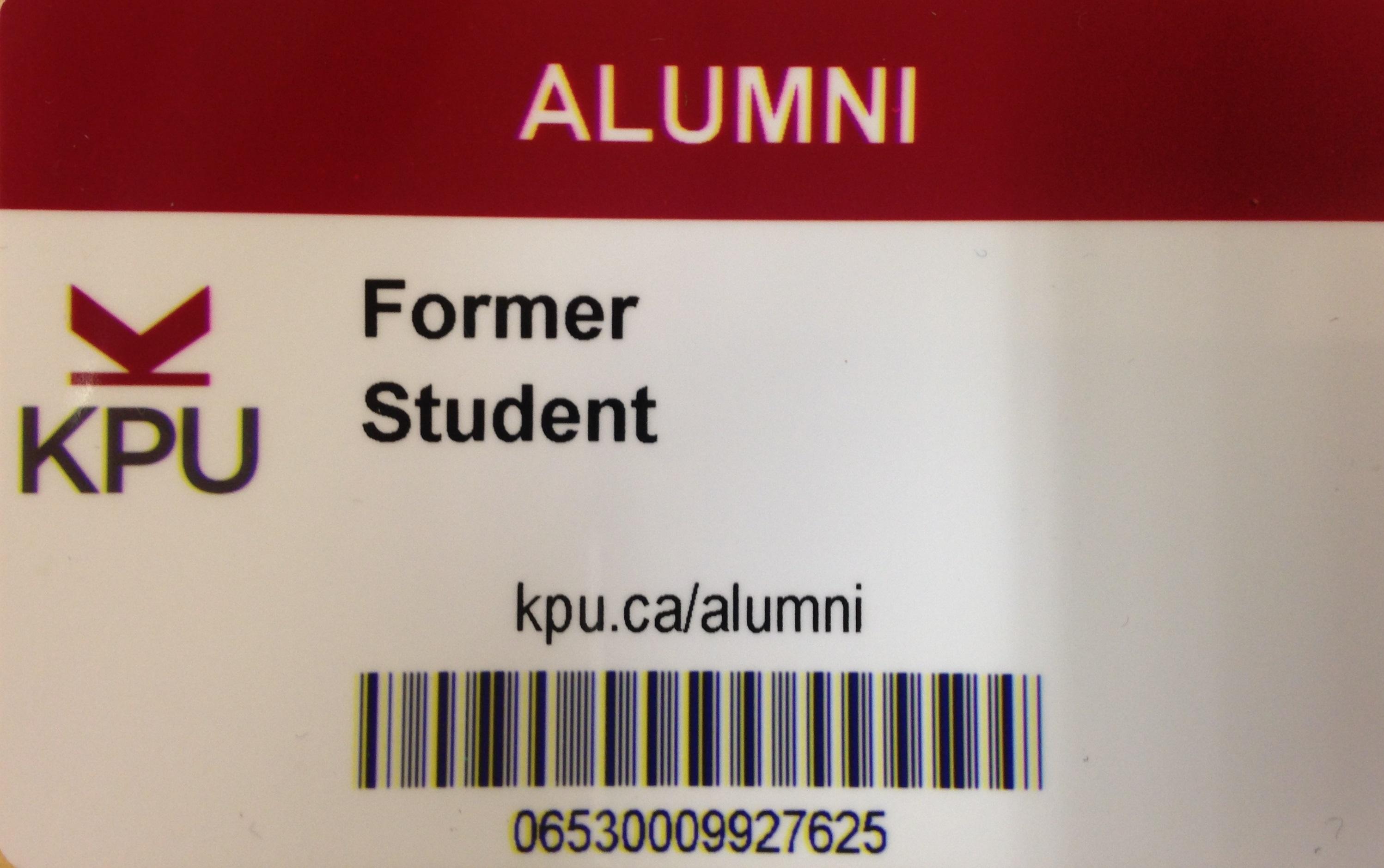 Alumni Card