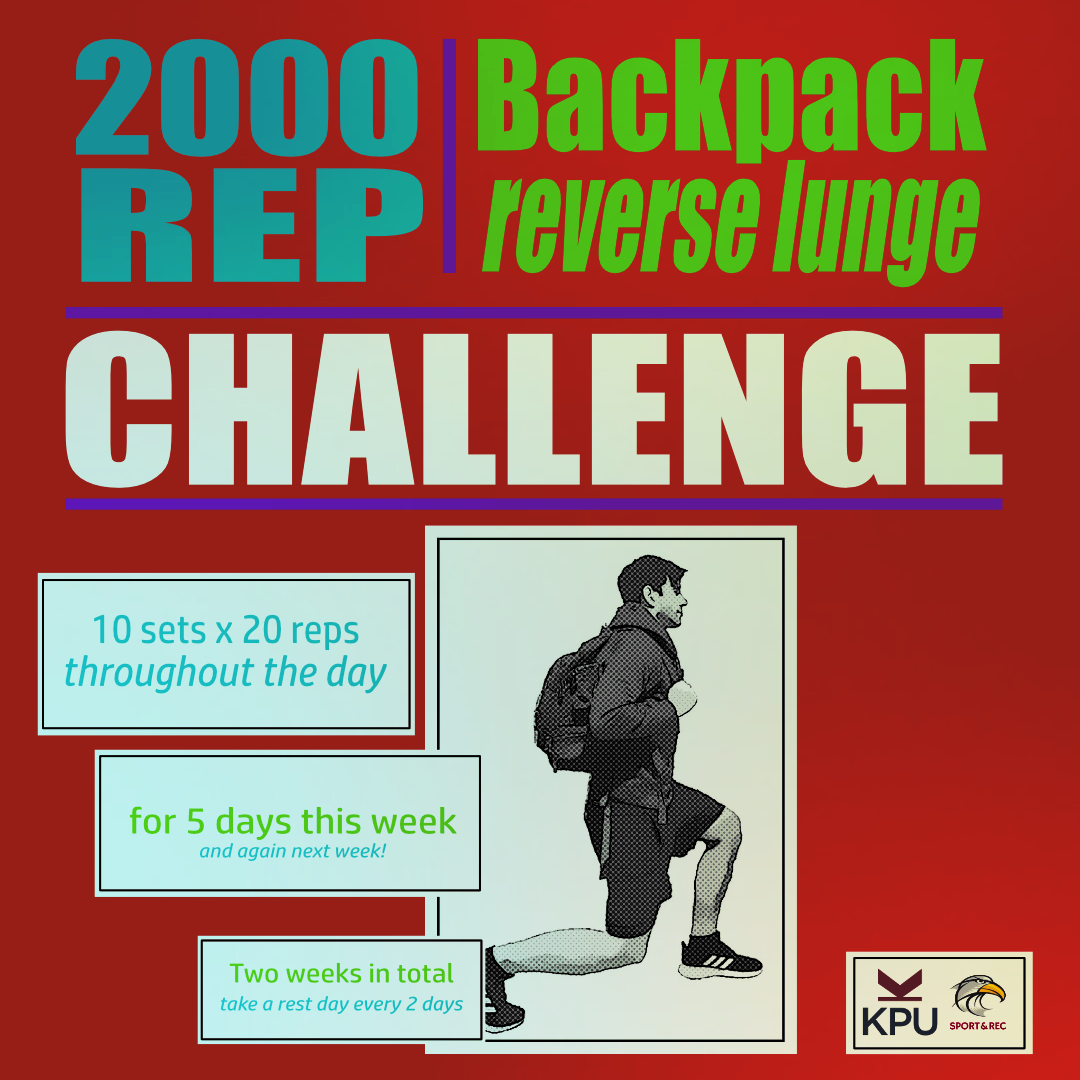 2000 Reps Lunge Challenge
