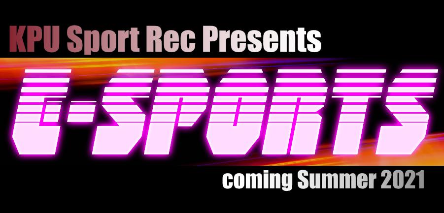 E-Sports Coming Soon