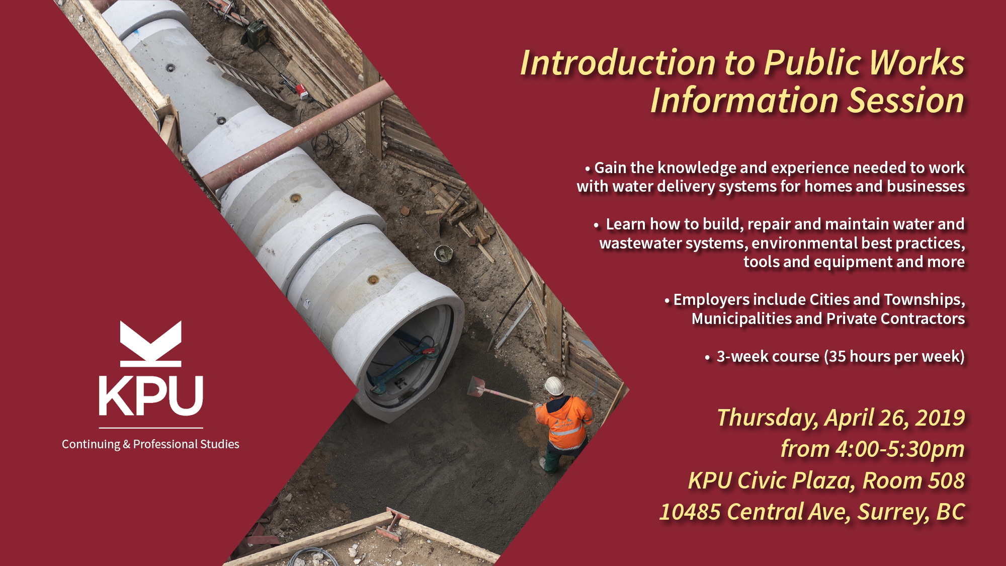 Introduction to Public Works