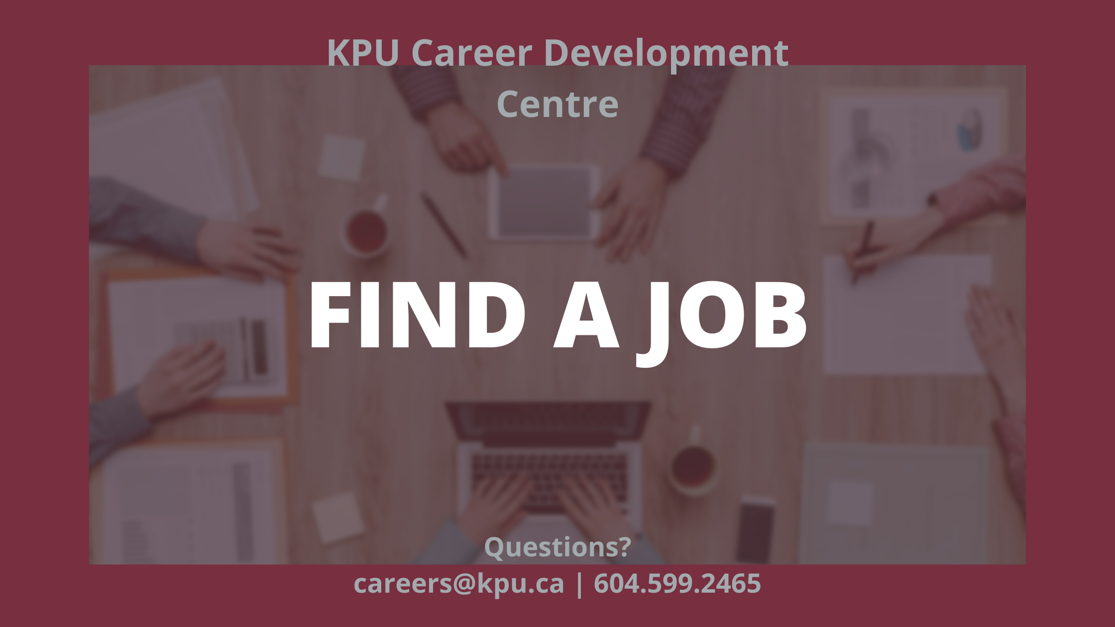 Career Resources - Find a Job