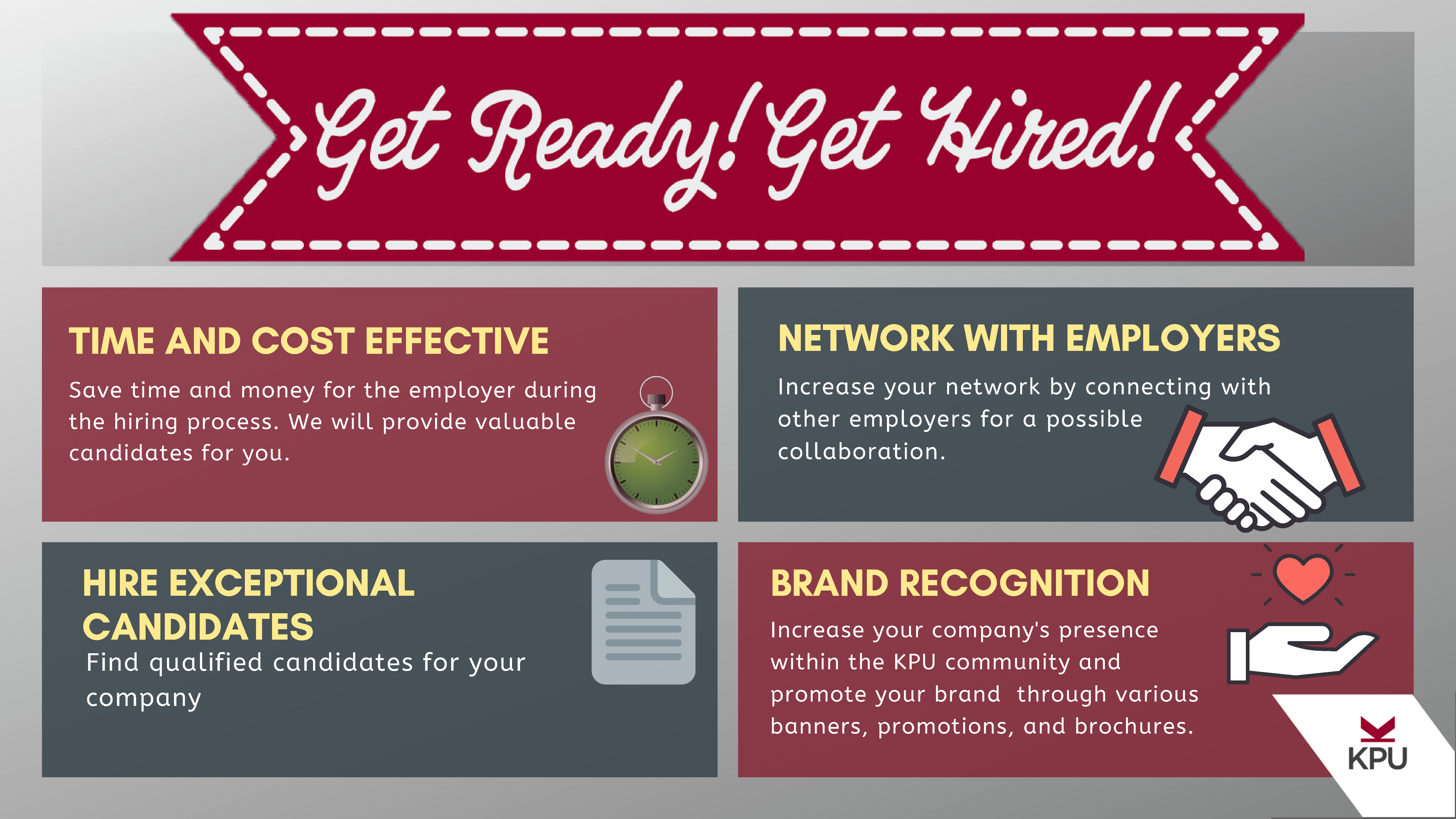 Employer benefits for GRGH
