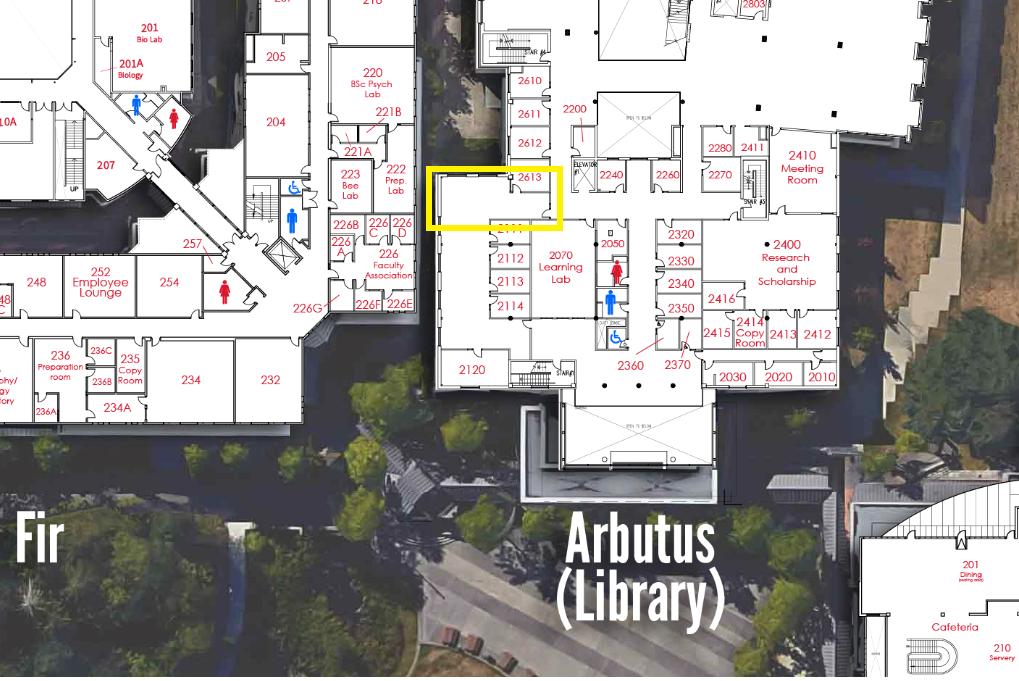 Dean's Office Surrey Location Map