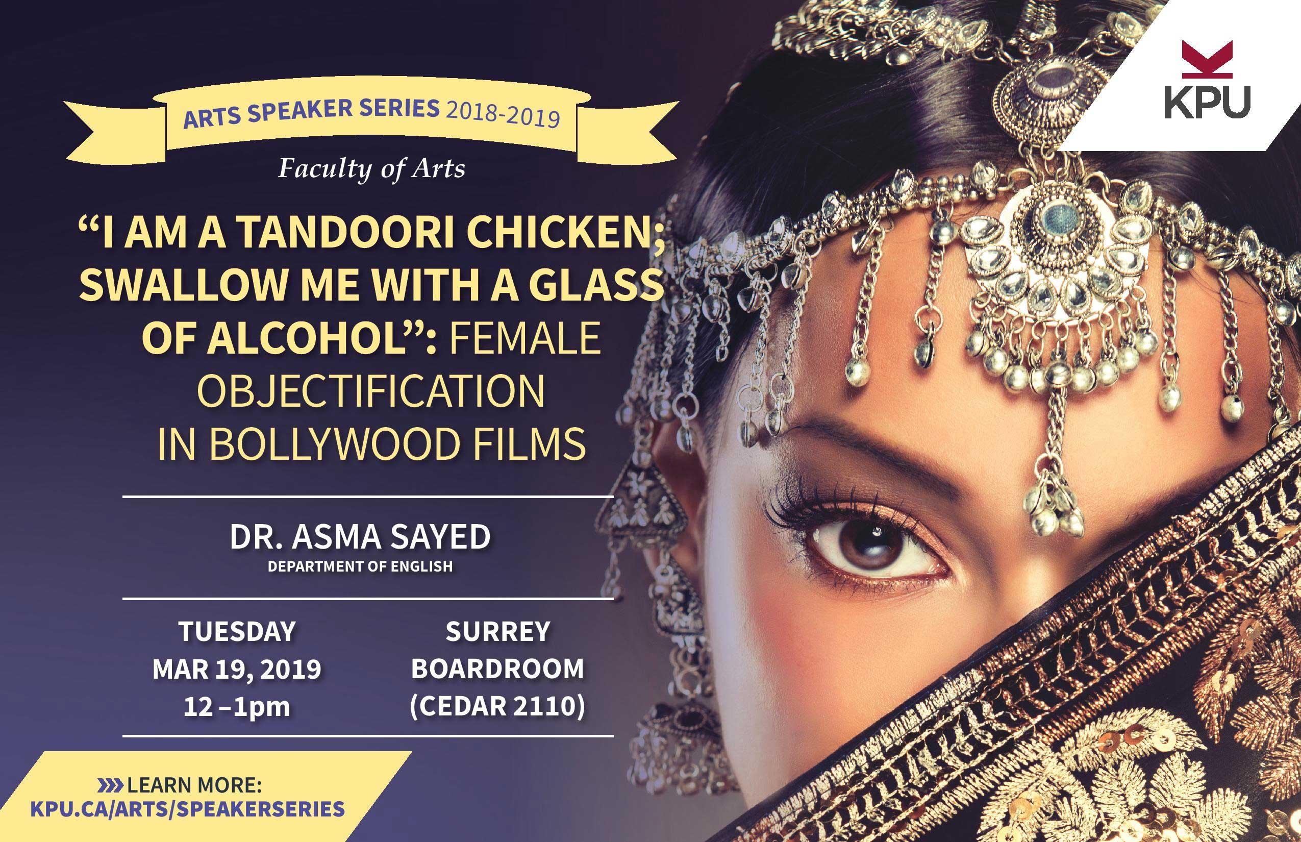 Asma Sayed Arts Speaker Series