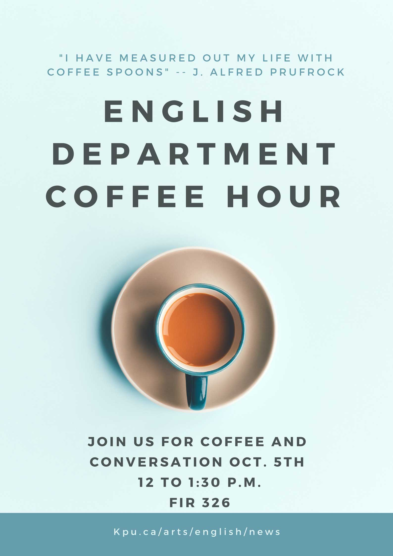 Coffee Hour - English Department