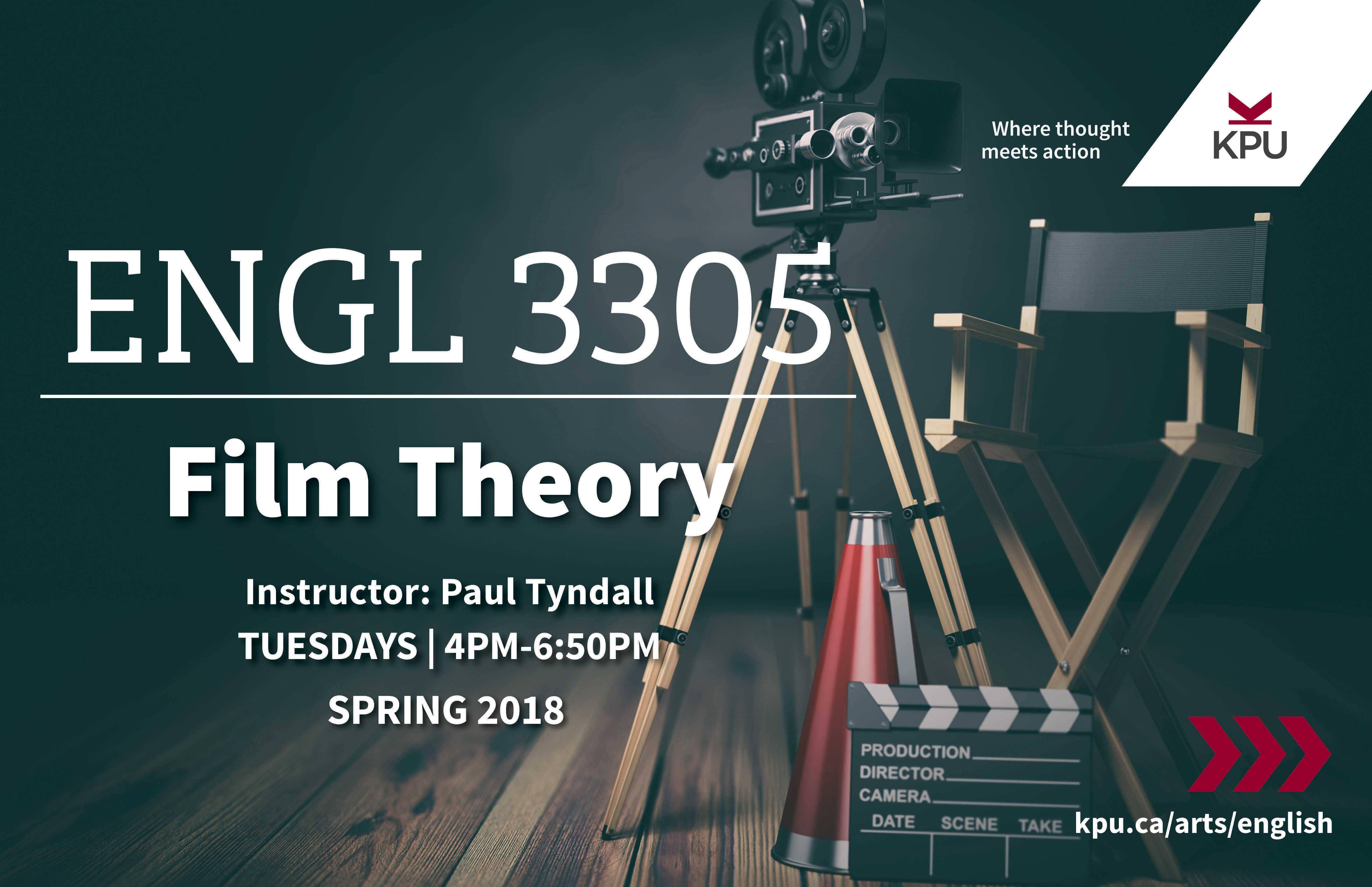 Spring 2018 English Courses