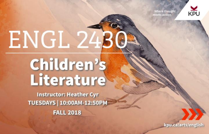 English2430 - Children's Literature