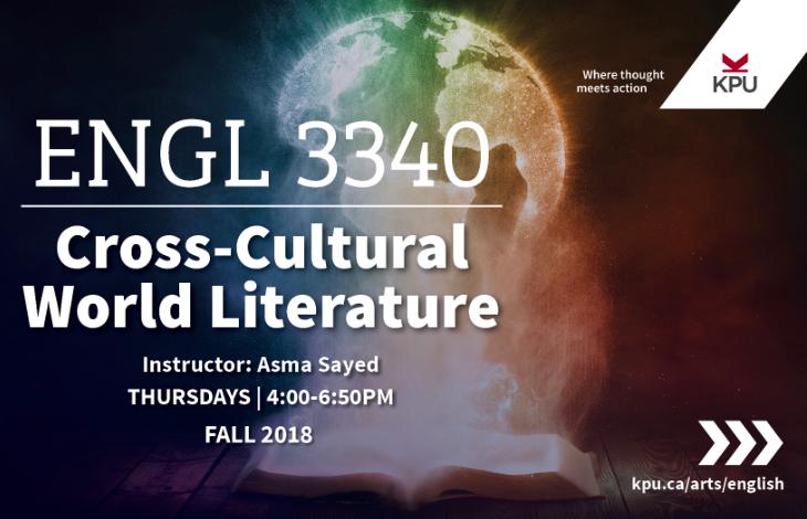 English 3340 - Cross-Cultural World Literature