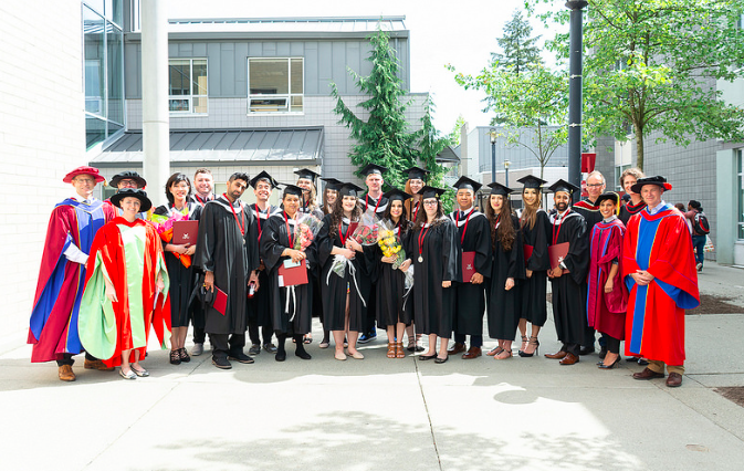 English Graduates and Faculty 2018