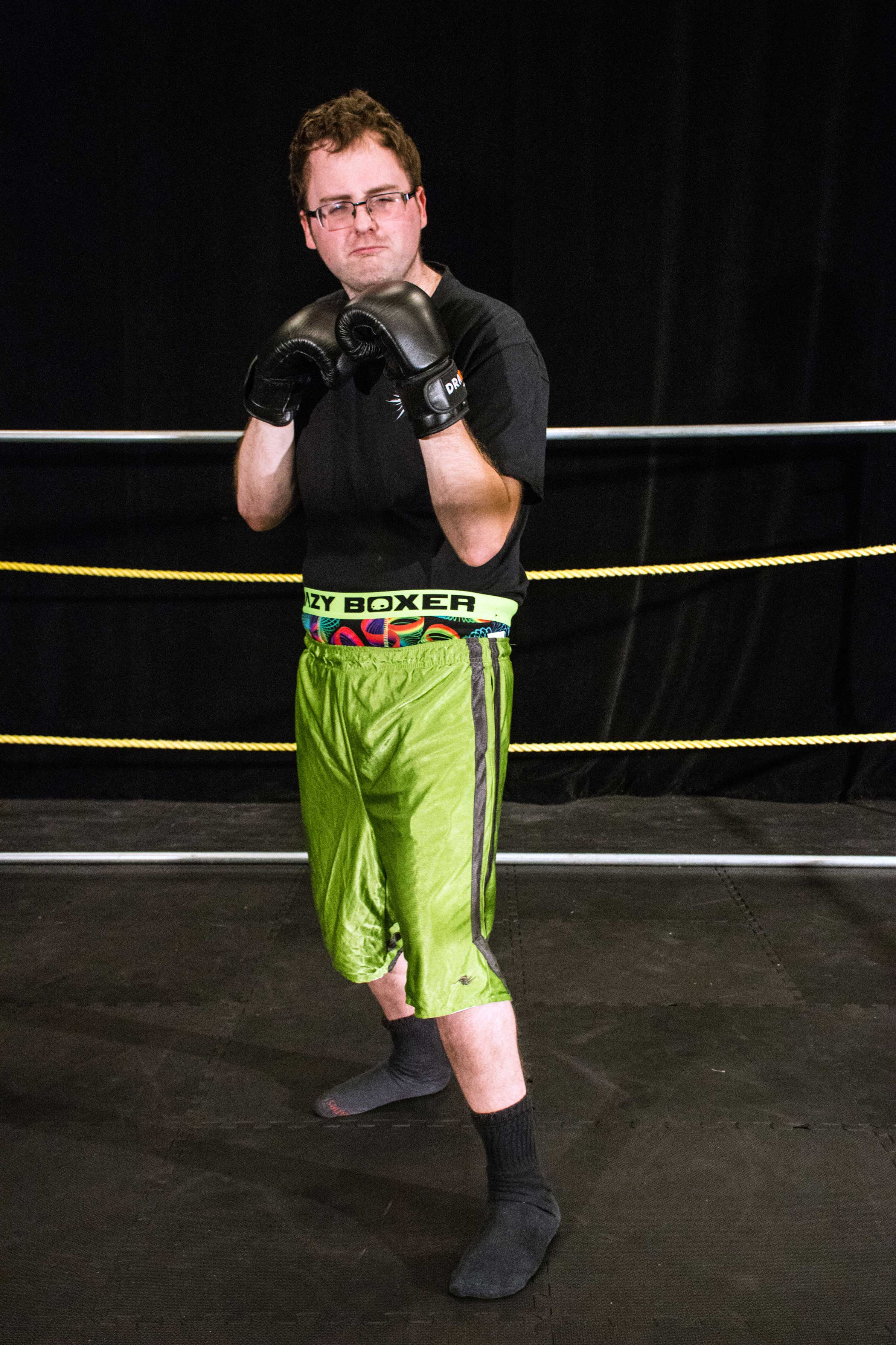 current student Justin Spurr as Grumi