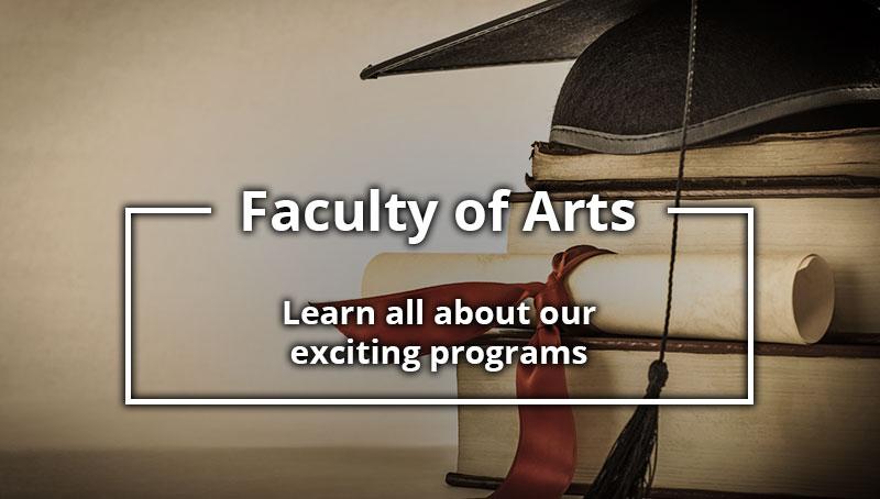 University Calendar: Faculty of Arts
