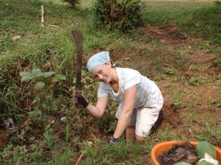 Leanne in Ghana