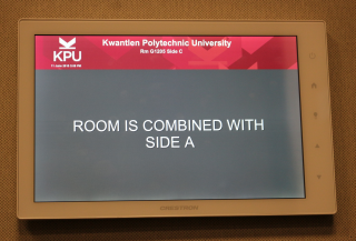 Touch Screen - Rooms Combined