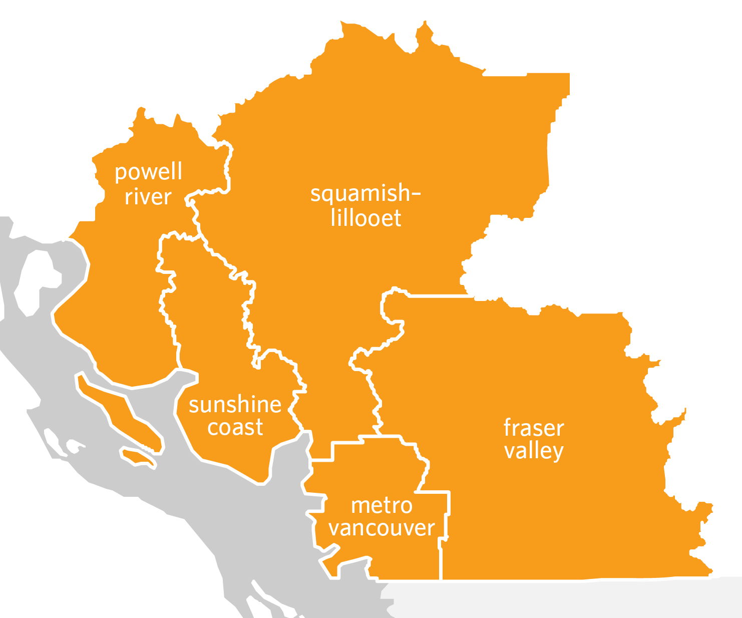 Southwest BC Bioregion Map