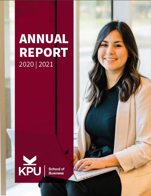 KPU School of Business Annual Report 2020-21.jpg