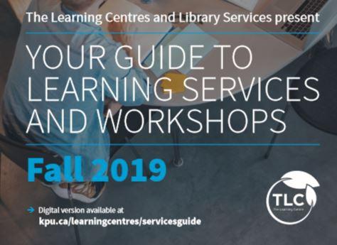 TLC, workshops, service booklet
