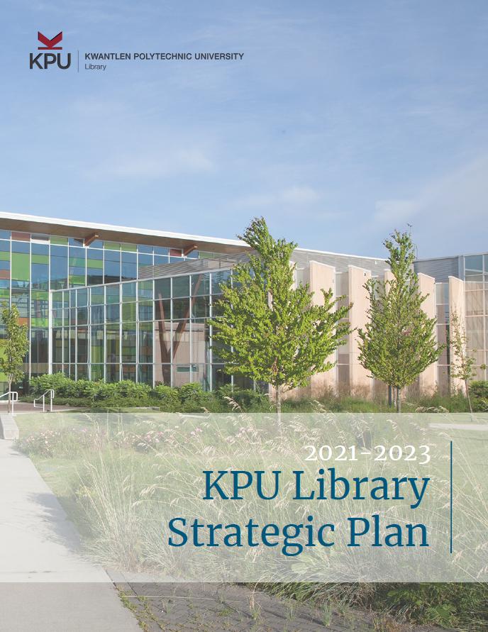 KPU Library Strategic Plan 2021-2023