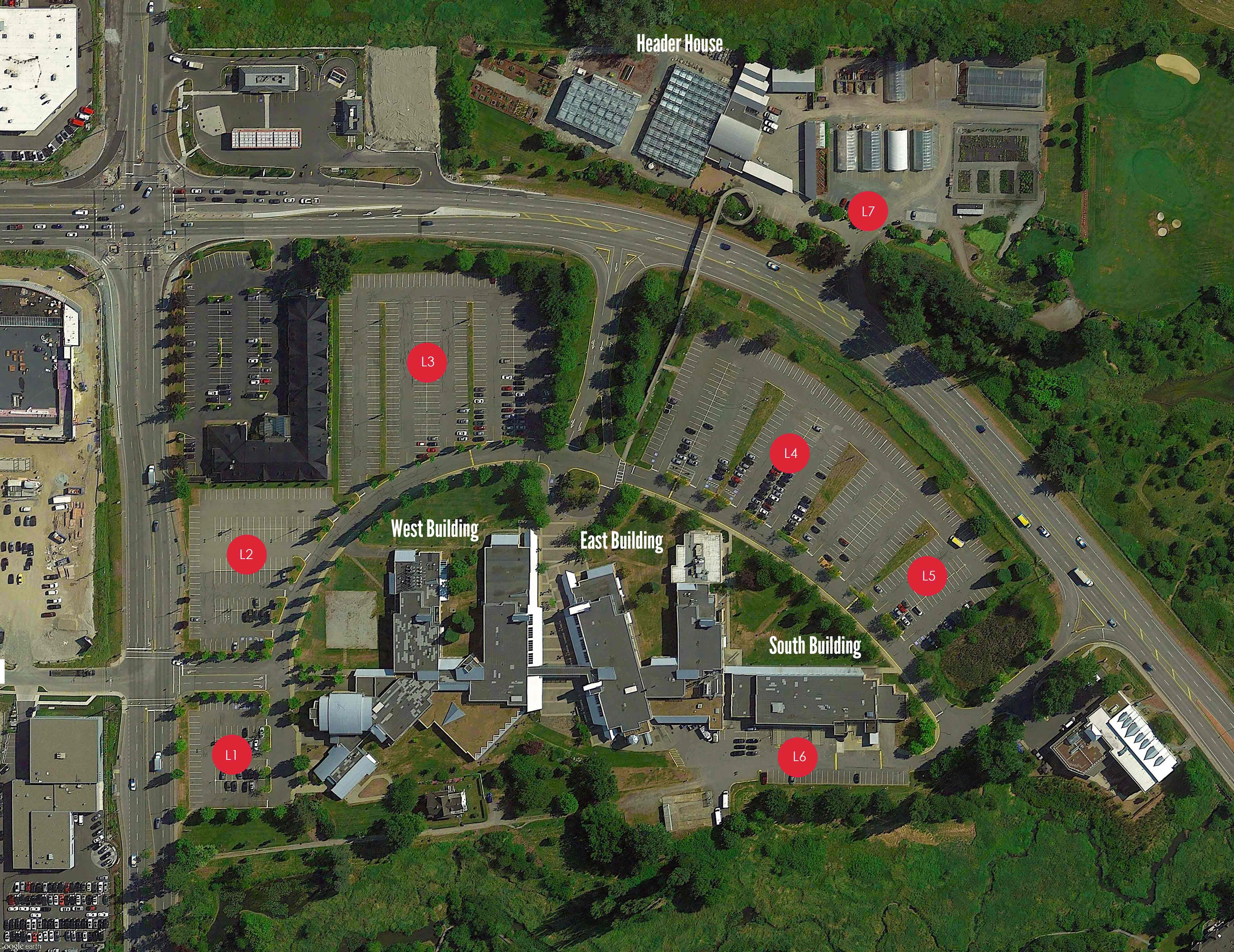Langley Campus Map