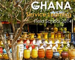 ghana field school poster