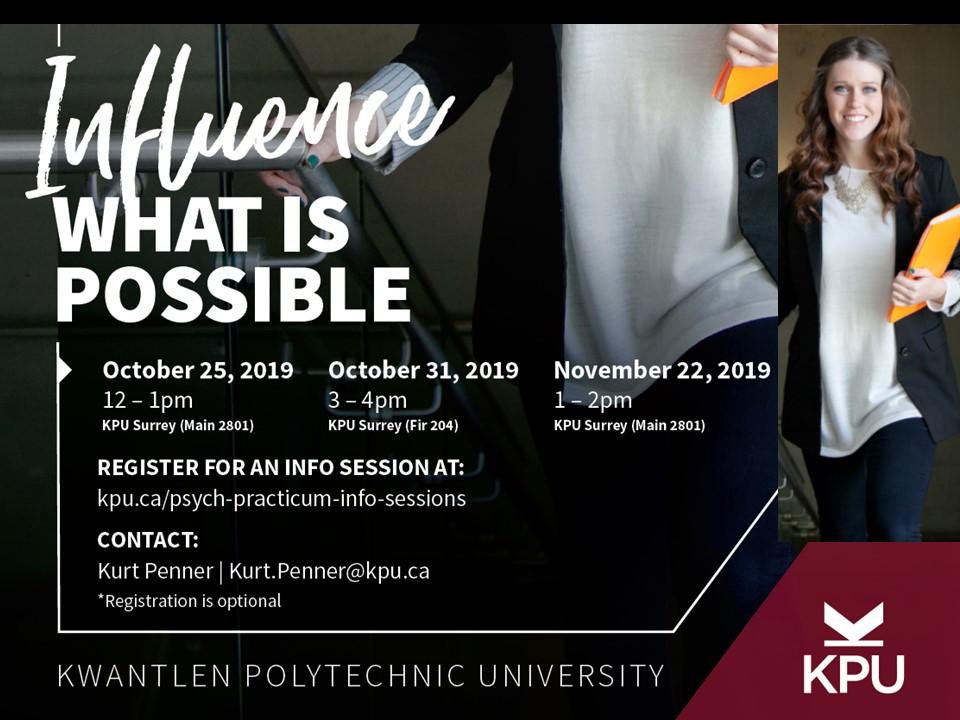 KPU Psychology Practicum