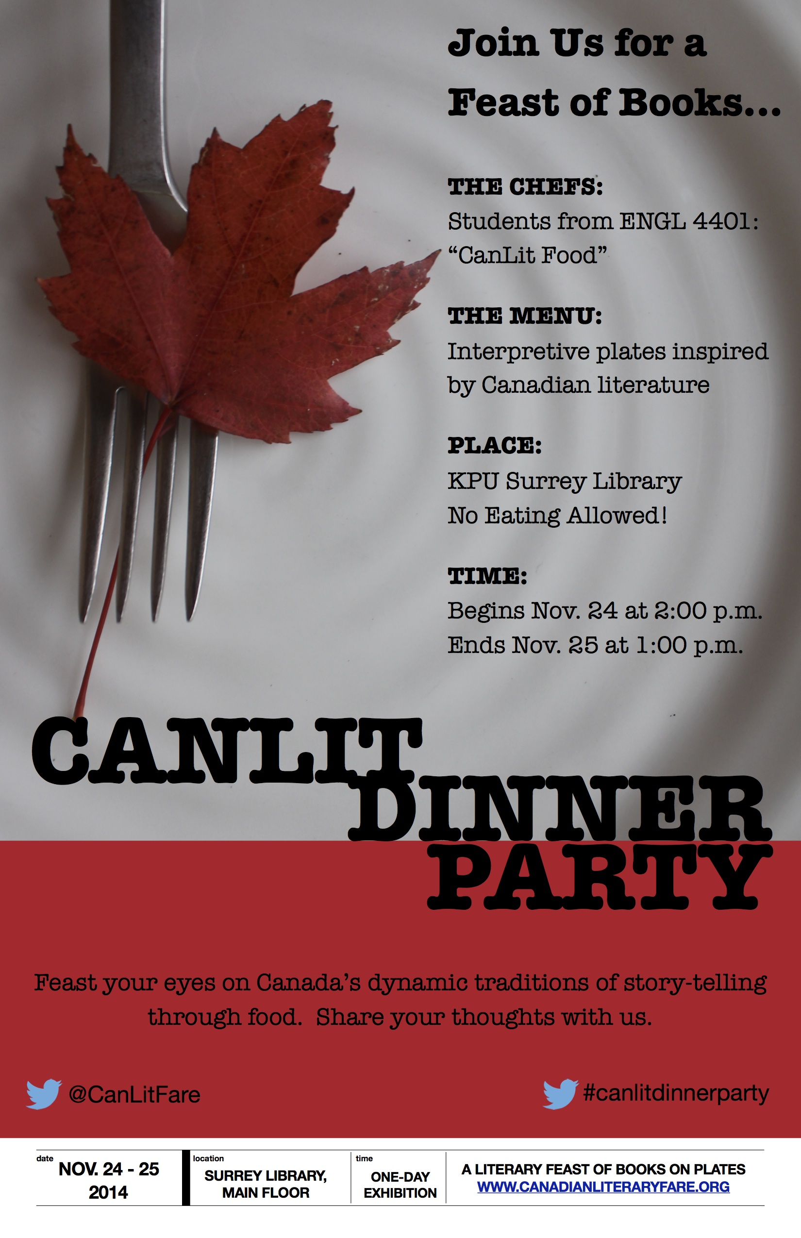 Canlit Dinner Party