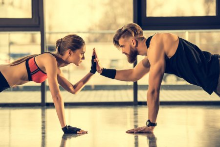 Working out together