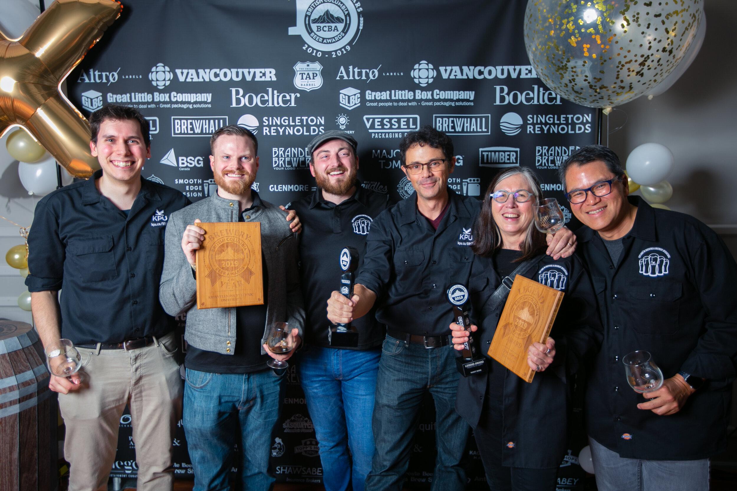 2019 BC Beer Awards KPU Brewing photo by JustJash