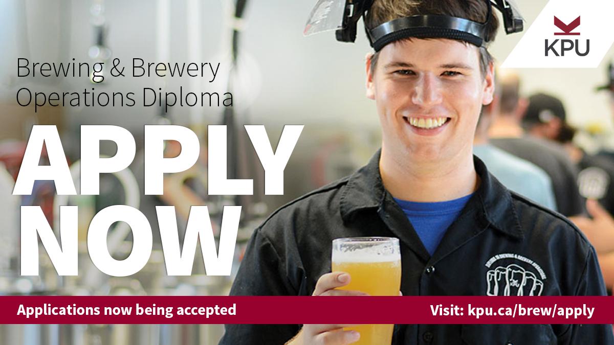 KPU Brewing and Brewery Operations Diploma Program
