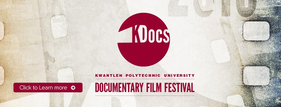 KDocs - KPU Documentary Film Festival 2016