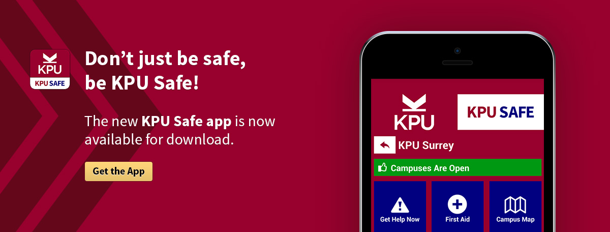 Download the KPU Safe App