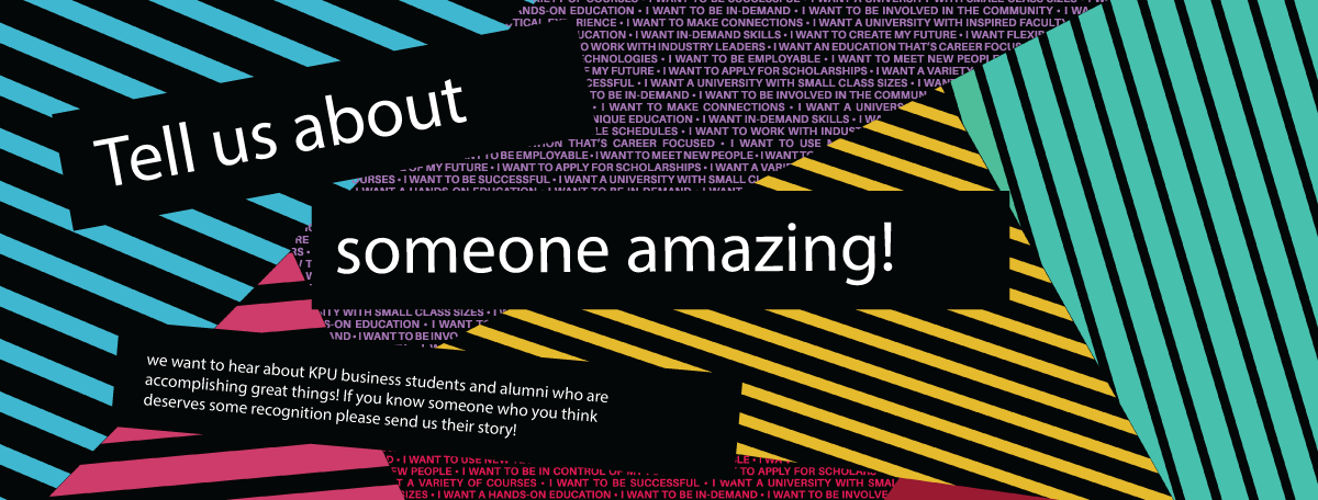 tell us about someone amazing!
