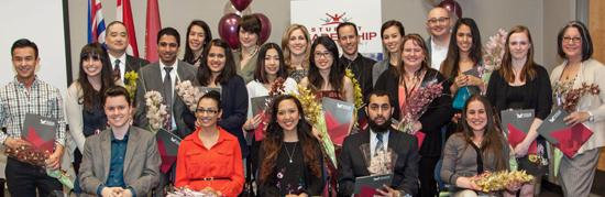 Student Life Recipients 2014