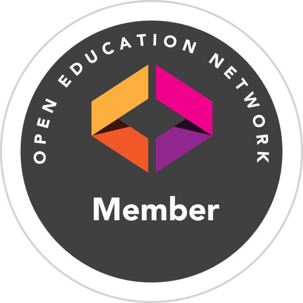 Member badge for the Open Education Network