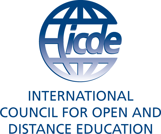 Logo of the International Council for Open and Distance Education