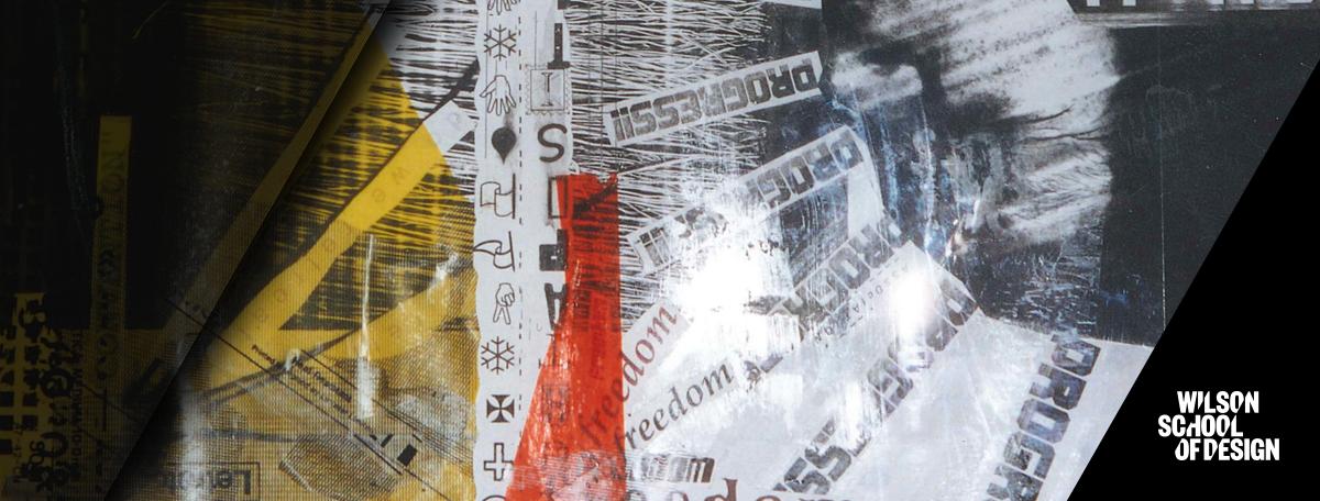 Piece of contemporary artwork.