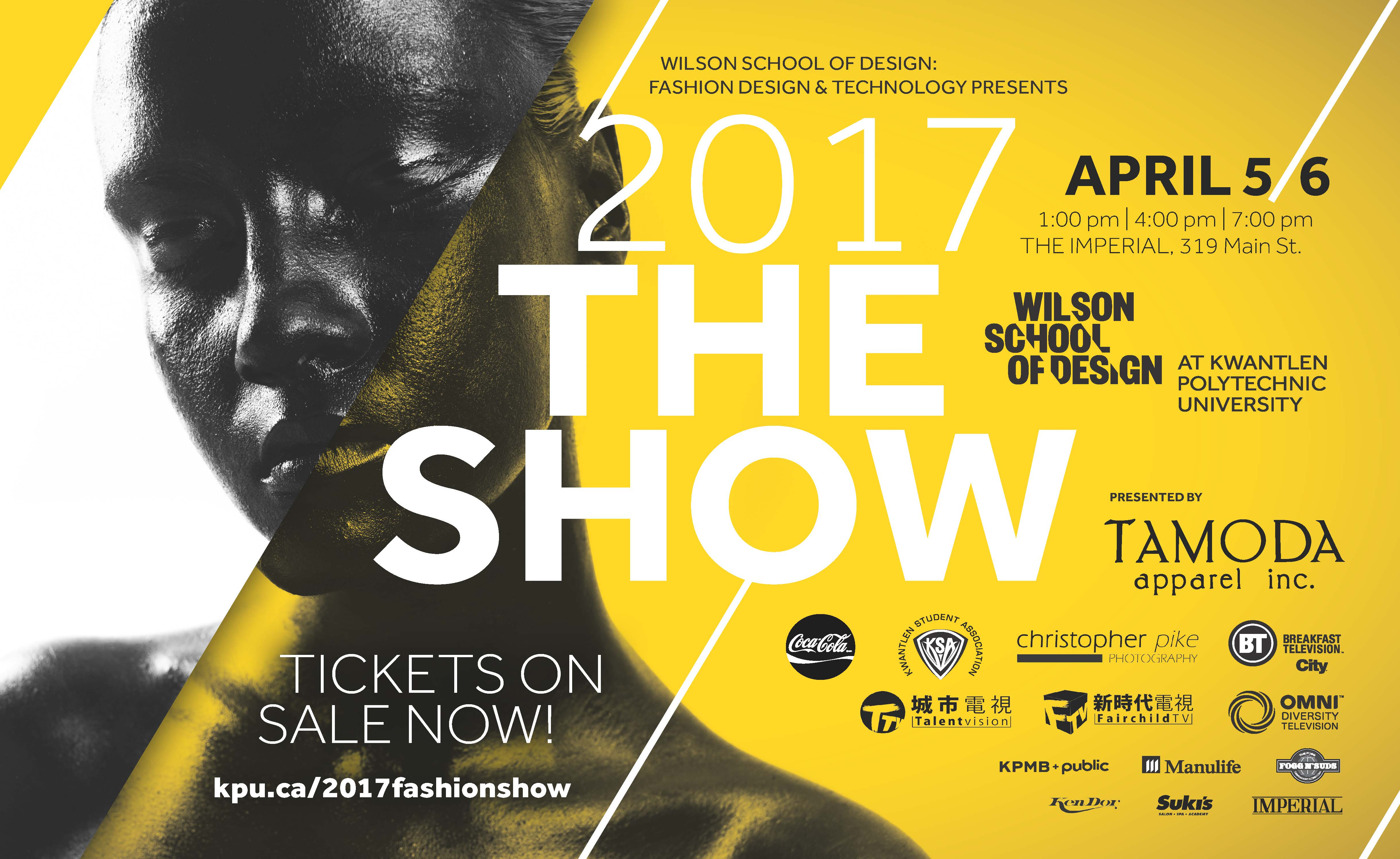 The Show 2017 Poster