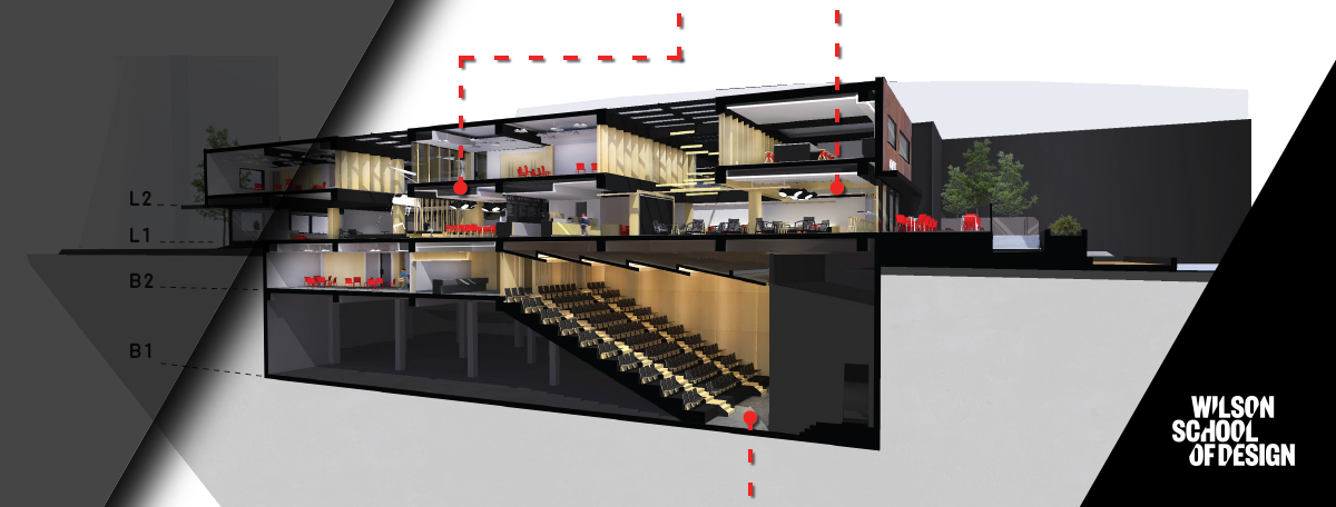 Autocad project of an interior design project.
