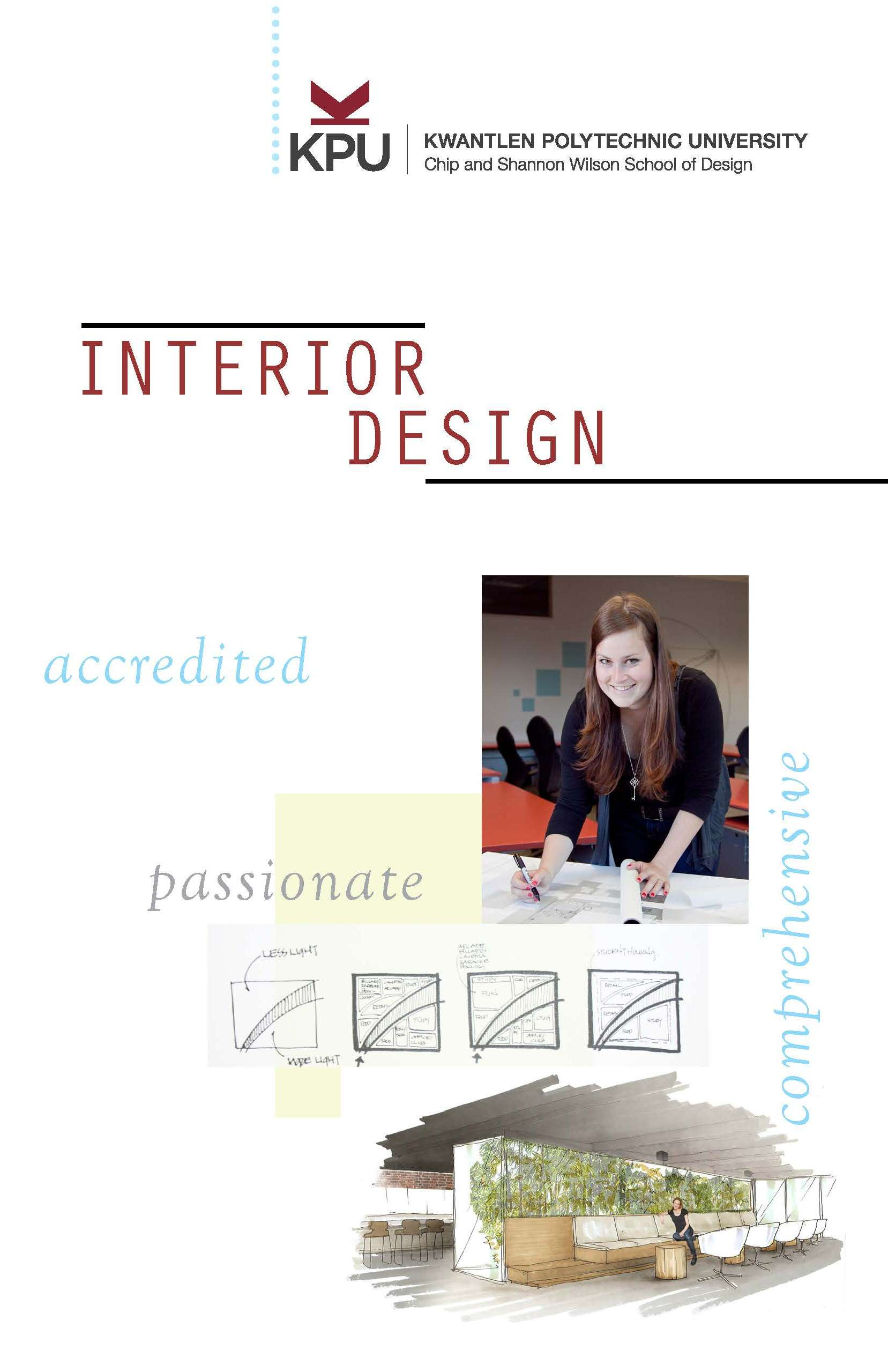 Bachelor Of Interior Design Kwantlen Polytechnic University