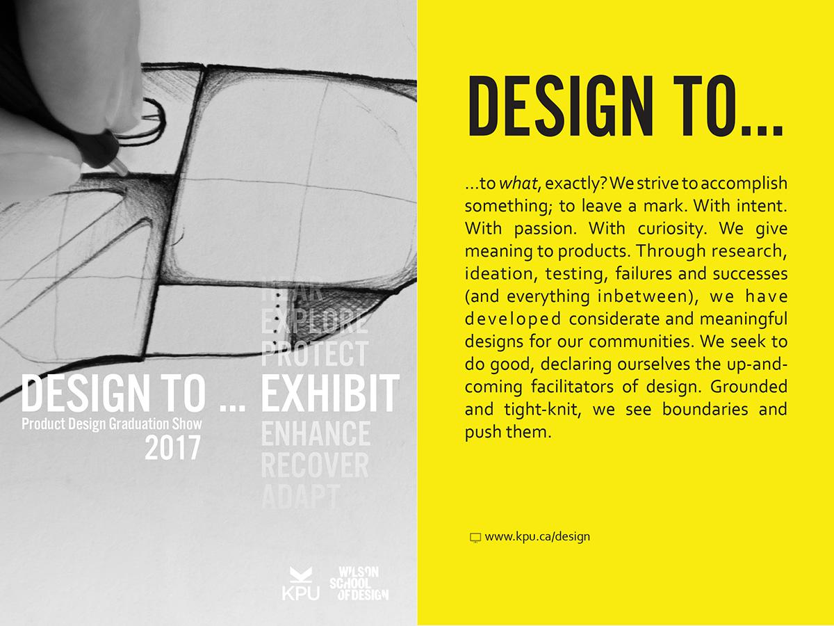 Product Design Capstone Exhibit 2017