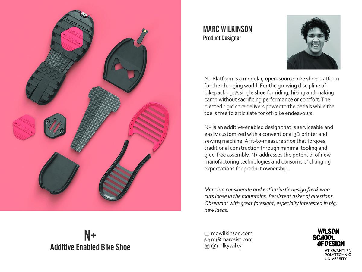 Product Design graduate exhibition 2017 Marc