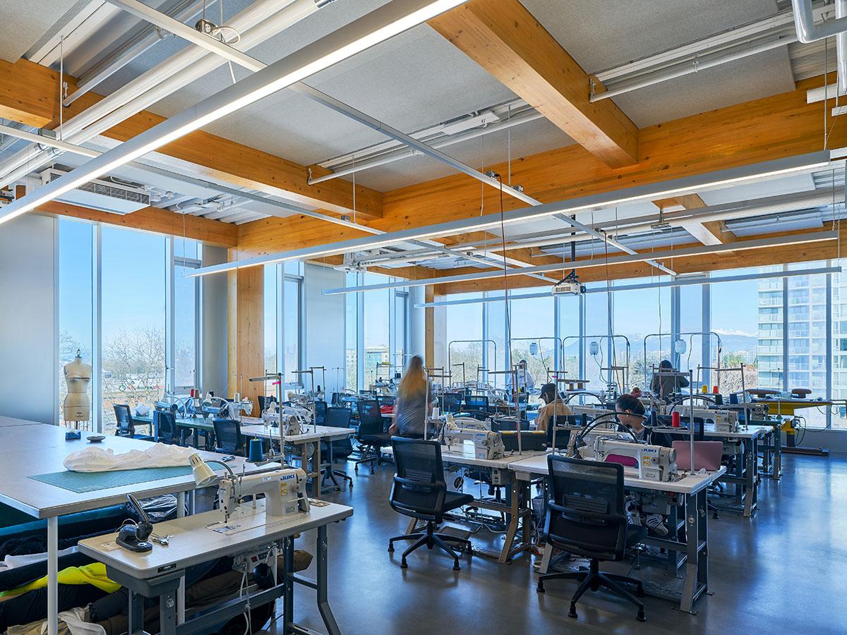 Wilson School of Design Interior