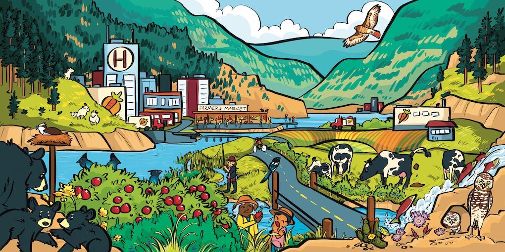 Okanagan Bioregion Food System