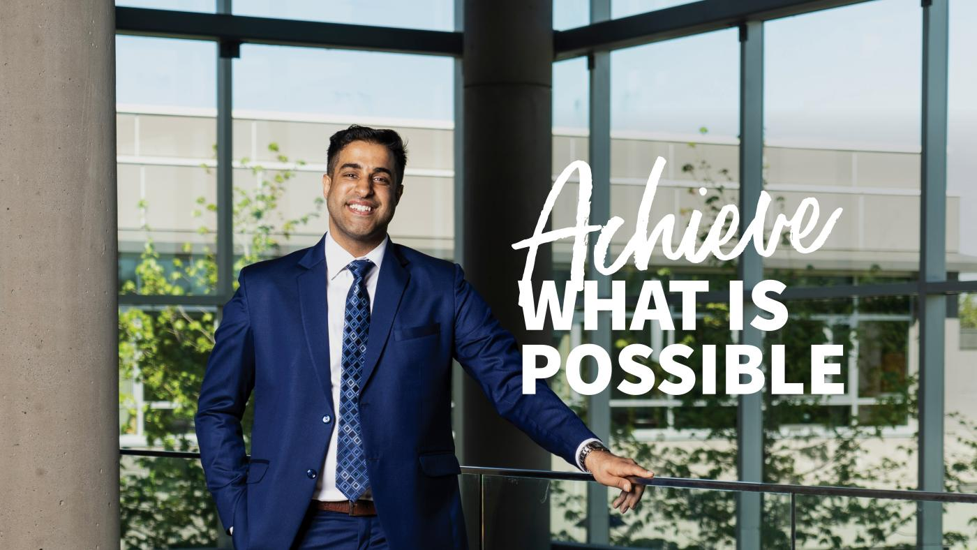 Achieve what is possible