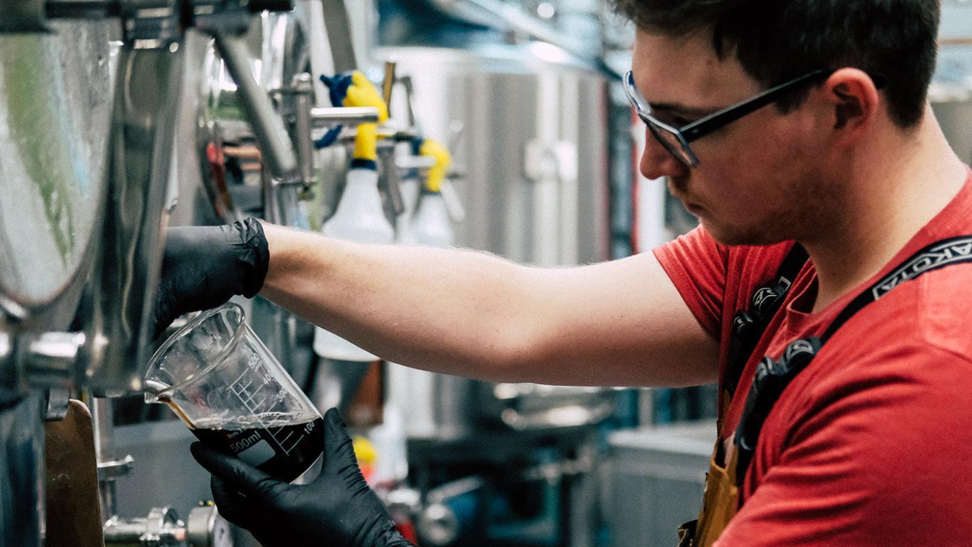 KPU Brewing Alumni Iain Sutherland Breton Brewing
