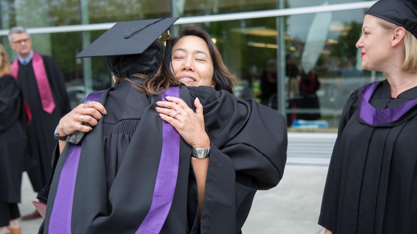 Andhra hugs a graduate