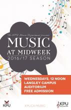 Music@Midweek promo poster